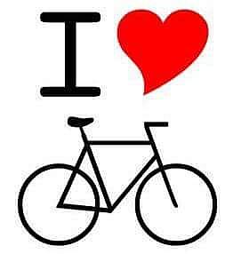 i l,ove bicycle
